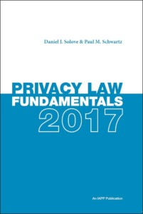 Solove-Schwartz Privacy Law Fundamentals